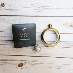 Chic & Tonic Bangle Bracelet Flask with Funnel